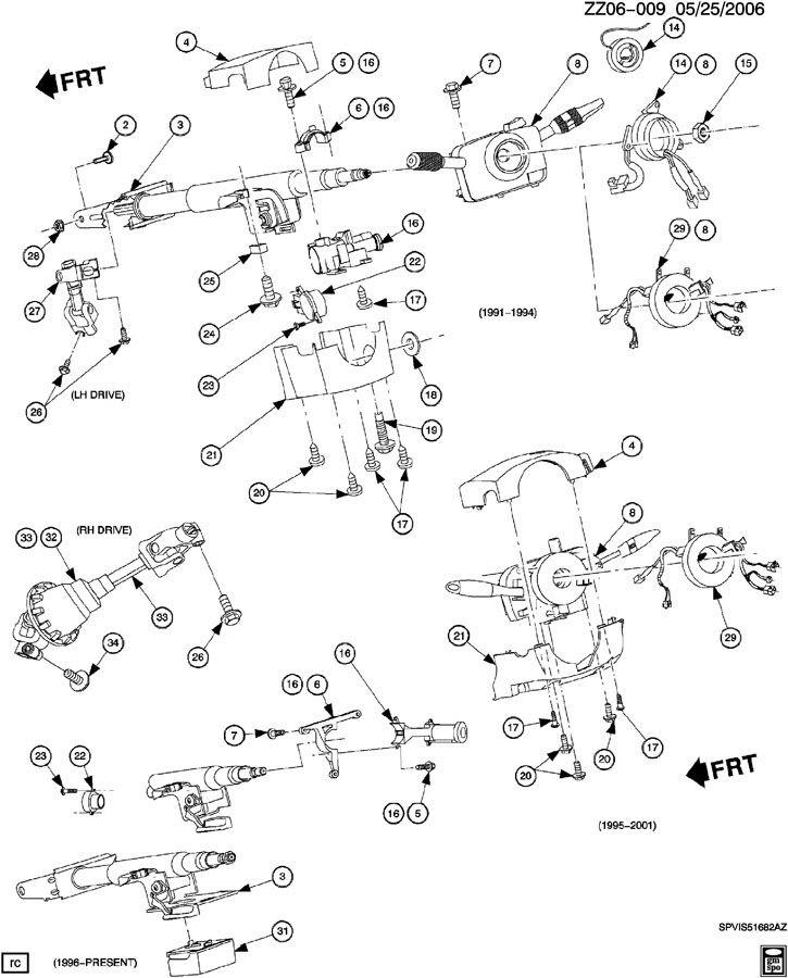 1996 Saturn Starter Wiring Diagram
