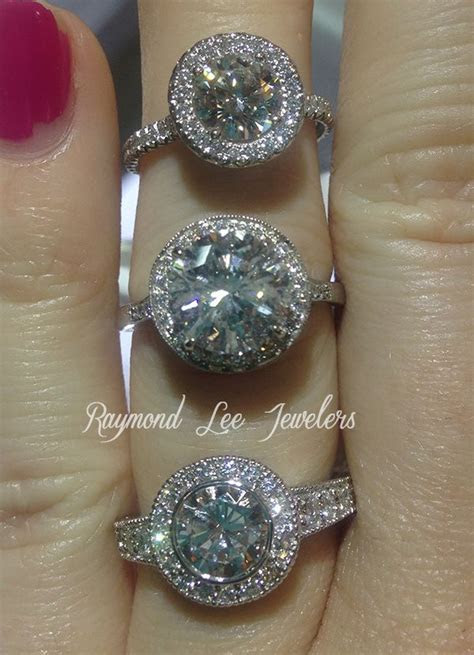 13 best images about Carat Comparison on Pinterest   Halo