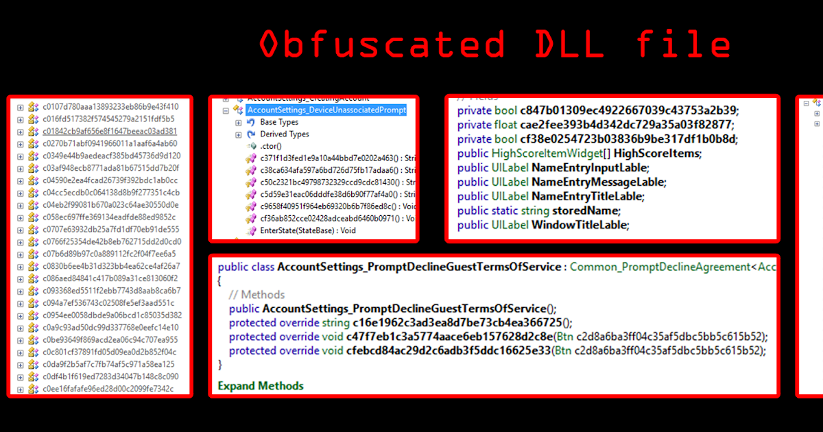 how to mod obfuscated dll file  unity3d games