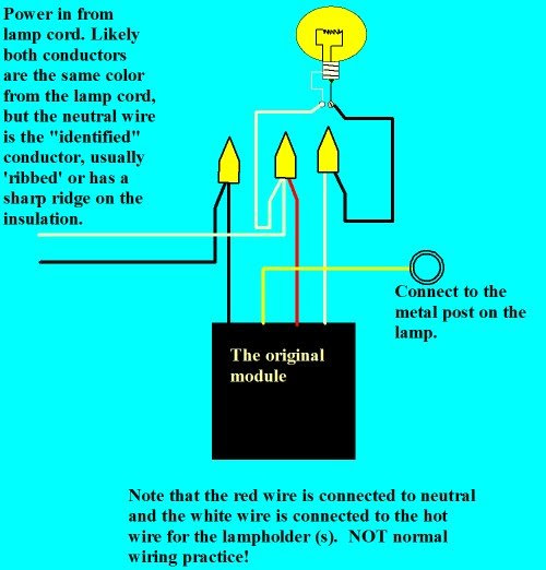 Wiring A Three Way Touch Lamp Today Wiring Diagram