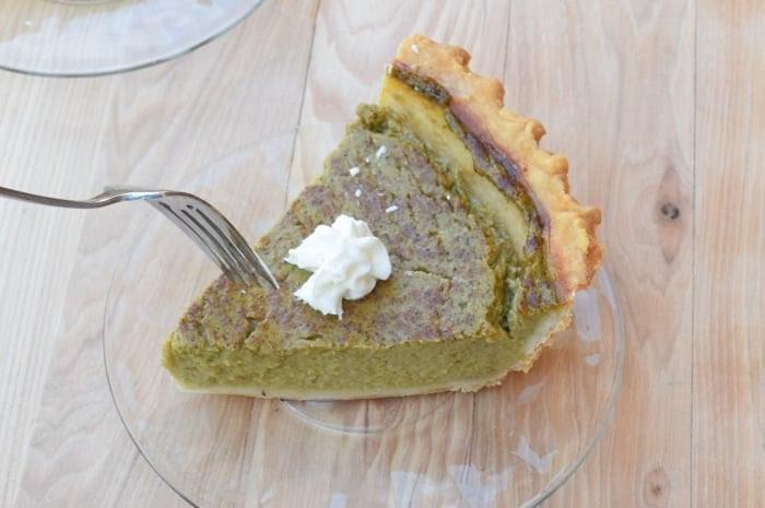 Turn veggies into dessert with this delicious zucchini pie recipe.