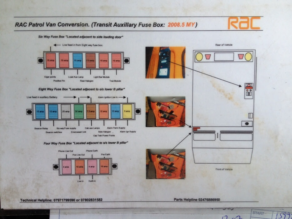 Ford Transit Fuse Box Location