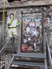 Hackesche Höfe -luovuutta Berliinissä