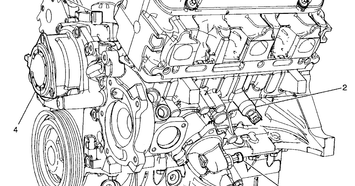 2007 Chevrolet Uplander Engine Diagram
