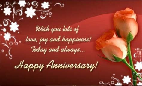 Top 10 Beautiful Wedding Anniversary Wishes For parents