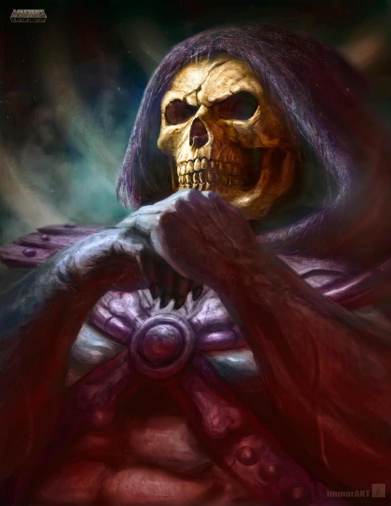 Skeletor by ImmarArt