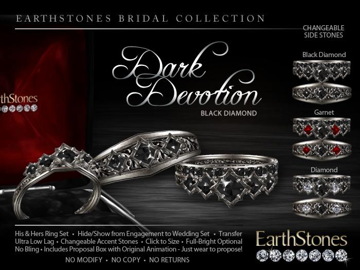 Devotion Dark Devotion Wedding Rings
