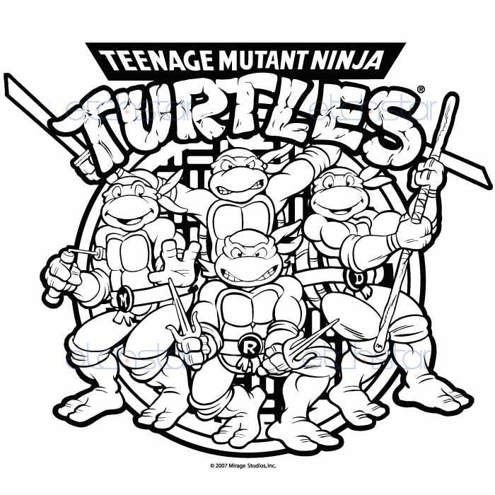 Teenage Mutant Ninja Turtles Drawing at GetDrawings | Free ...