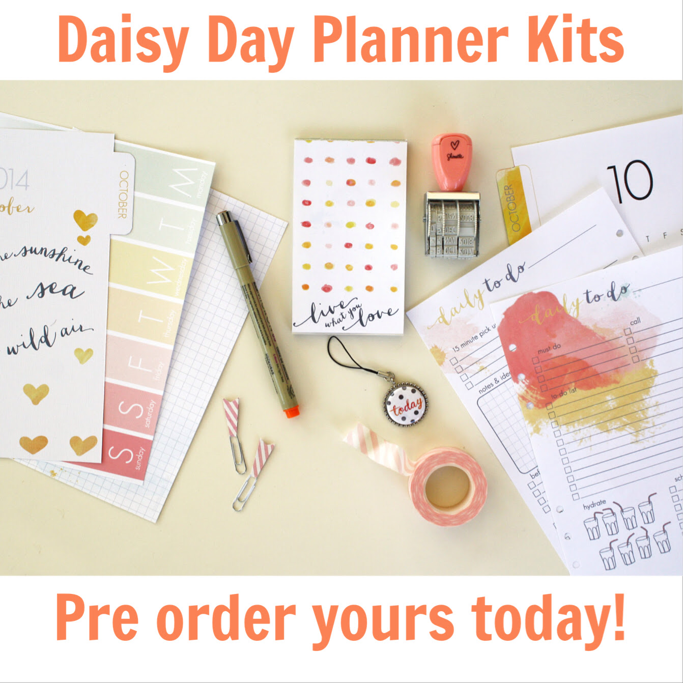 A SNEAK at our NEW Cocoa Daisy Day Planner! Pre order now.   Cocoa ...
