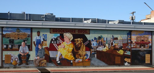 lufkin history mural (brookshire bros.)