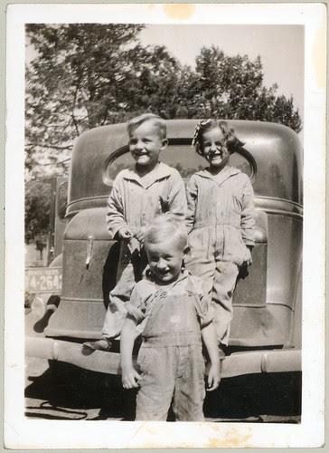 Three on a bumper