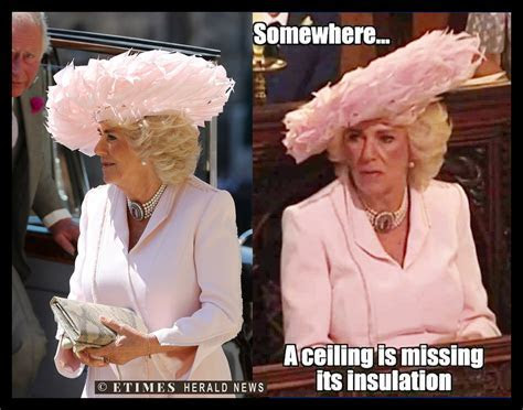 Camilla Parker Bowles' Hat Draws Negativity at Meghan