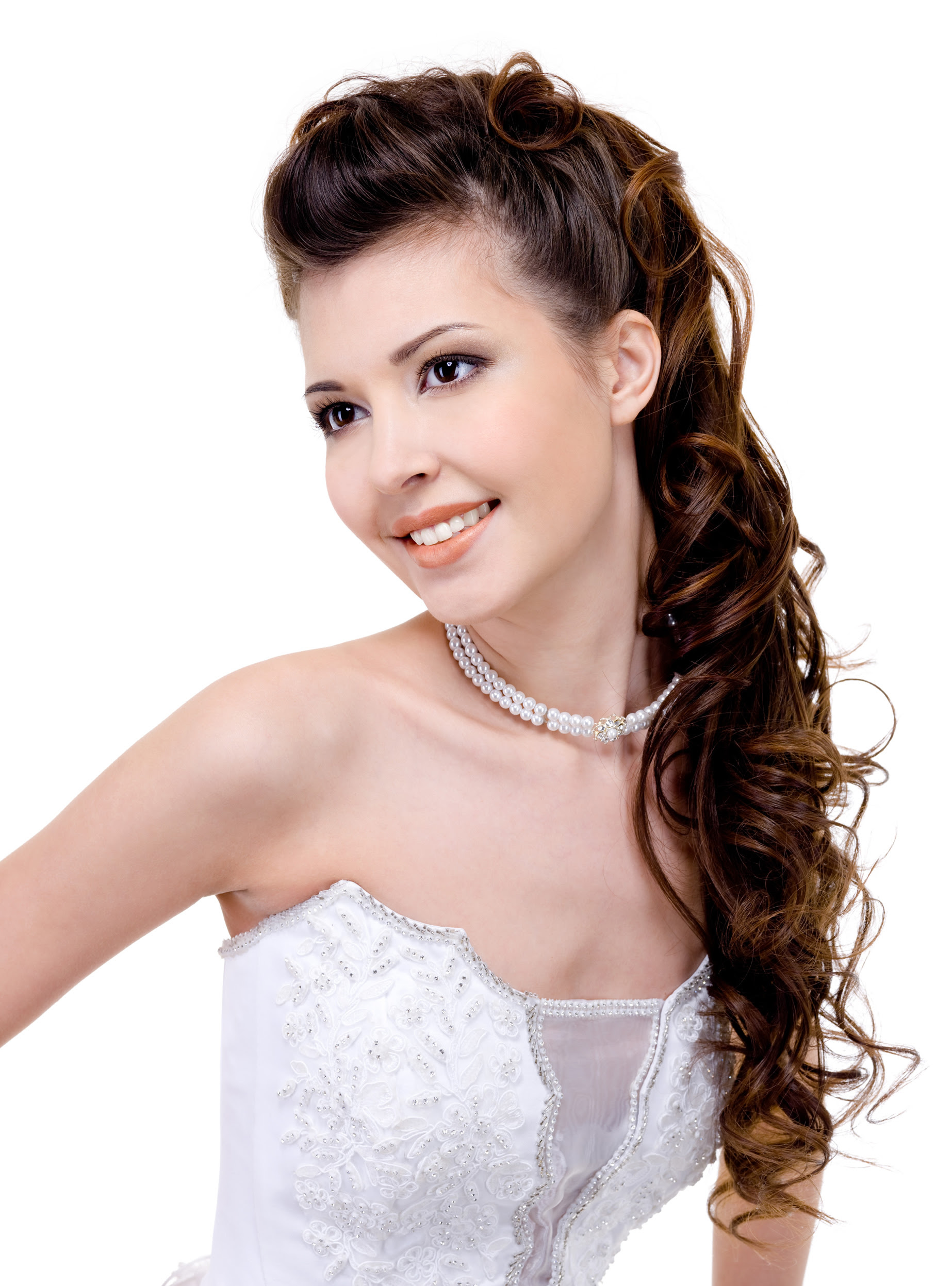 30 Romantic Long Bridal Wedding Hairstyles to Try - Wohh ...