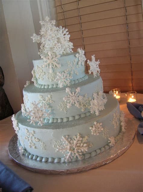 The Best winter Wedding cake