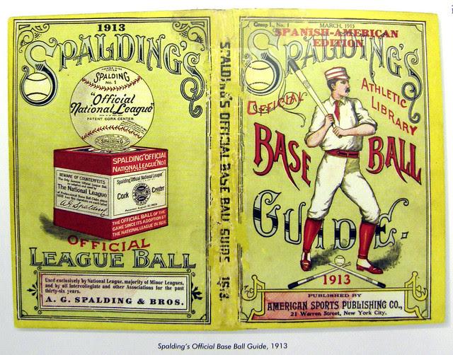 Spalding Baseball Guide 1913