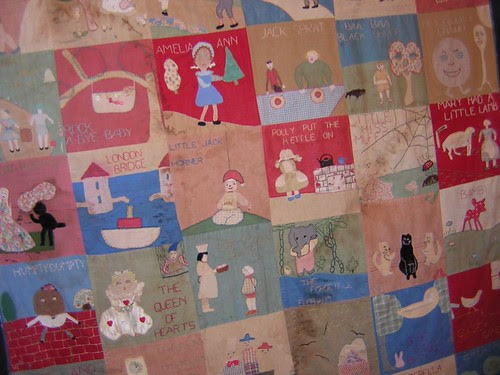 Nursery Rhymes Quilt 5 - Annette Gero Collection