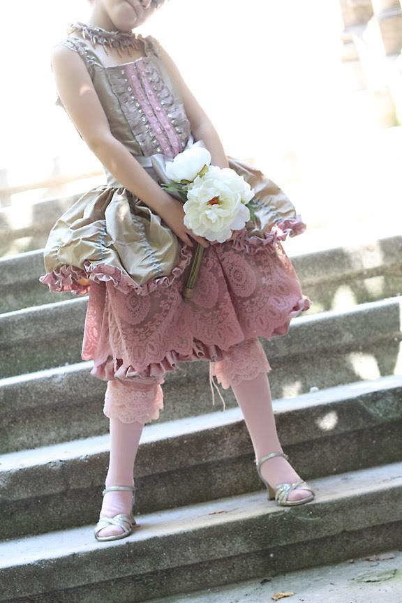 Marie Antoniette party gown