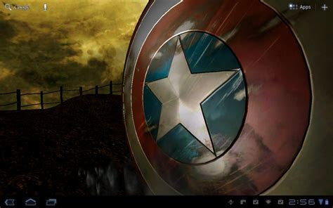 Android Wallpaper Review: Captain America Live Wallpaper