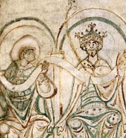 King Edgar and St Dunstan