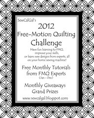 Free Motion Quilting Challenge 2012 @ Sew Cal Gal