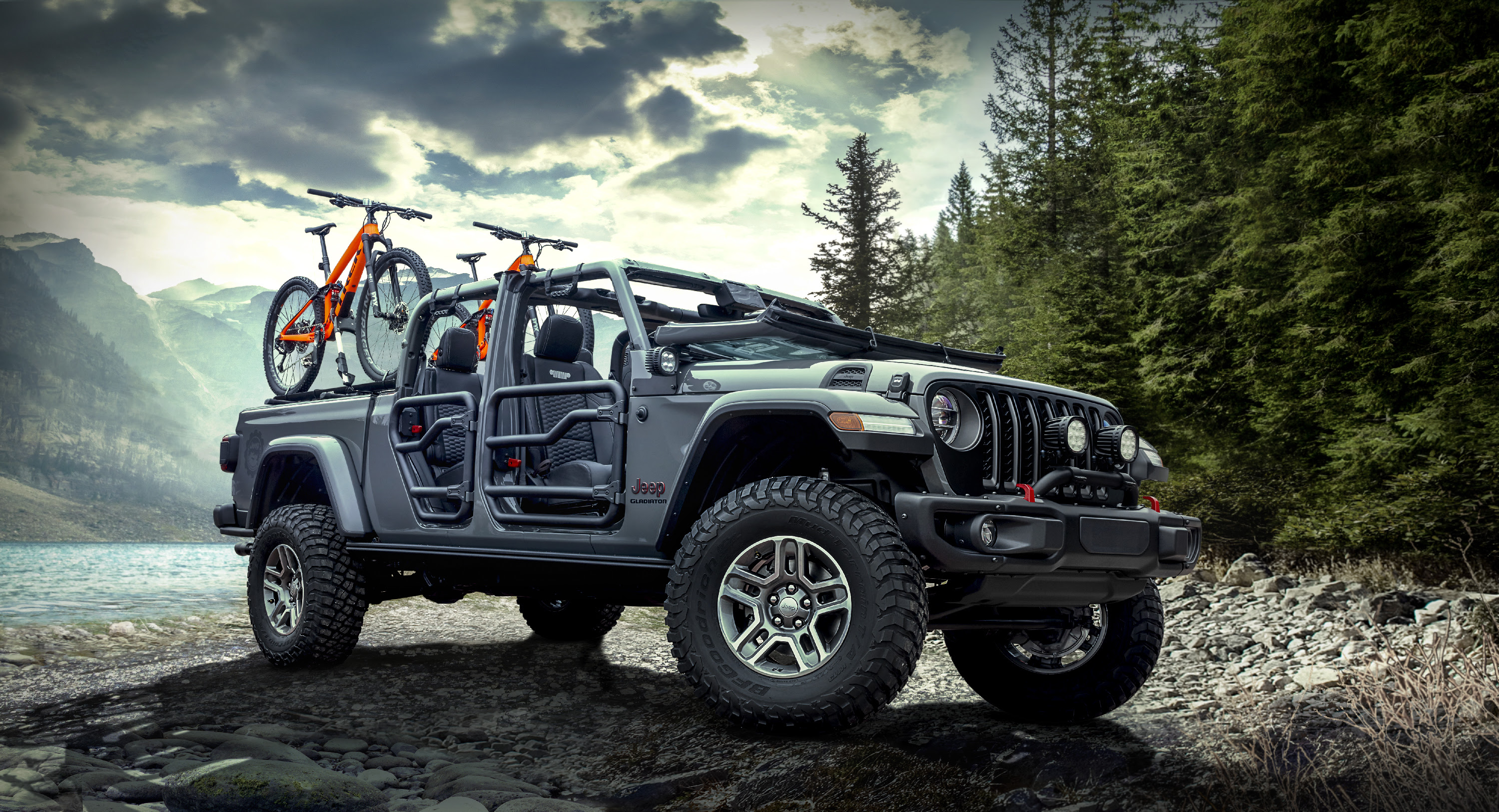 Jeep Gladiator Rubicon Wallpapers Hd Wallpapers