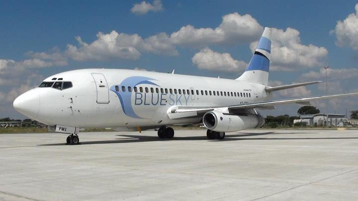 Blue Sky Airways 737