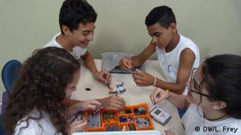 Aula de robótica em Águas de São Pedro