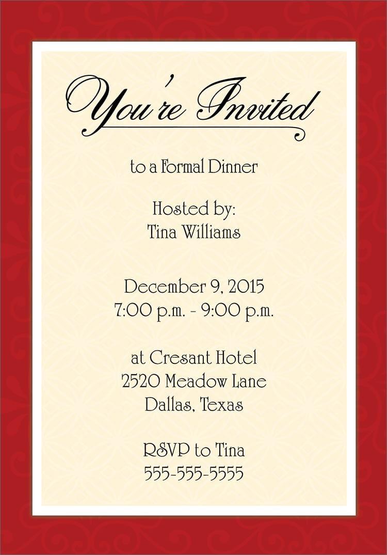 Contoh Invitation Formal Meeting Contoh O