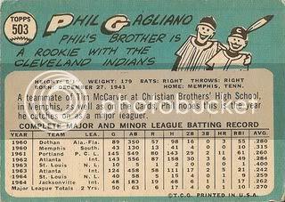 #503 Phil Gagliano (back)
