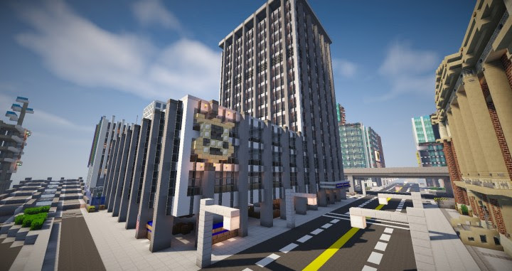 Minecraft Central City Map The Flash - Muat Turun 4