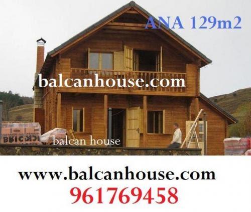 Casas de madera prefabricadas casas de madera en ecuador for Precios cabanas de madera baratas