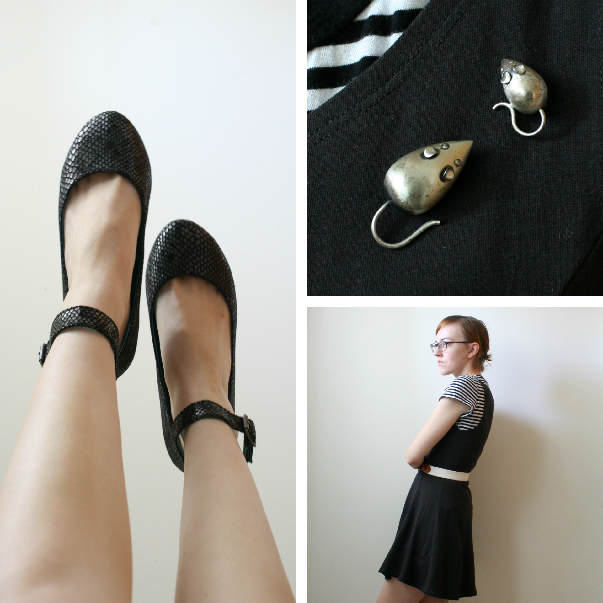 blowfish black flats