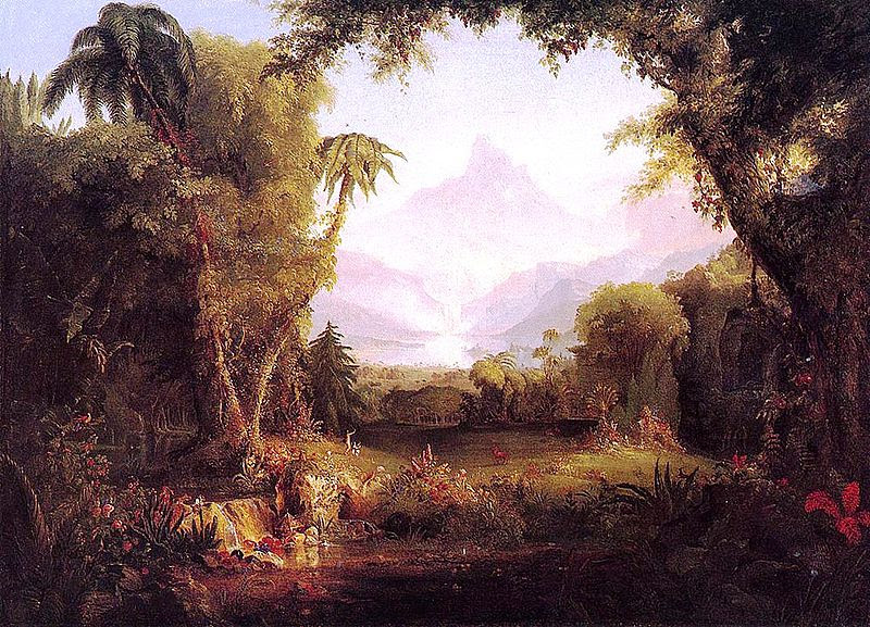 Cole Thomas The Garden of Eden 1828