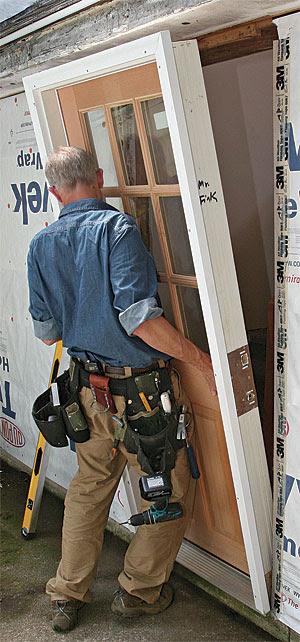 Install a Prehung Exterior Door - Fine Homebuilding