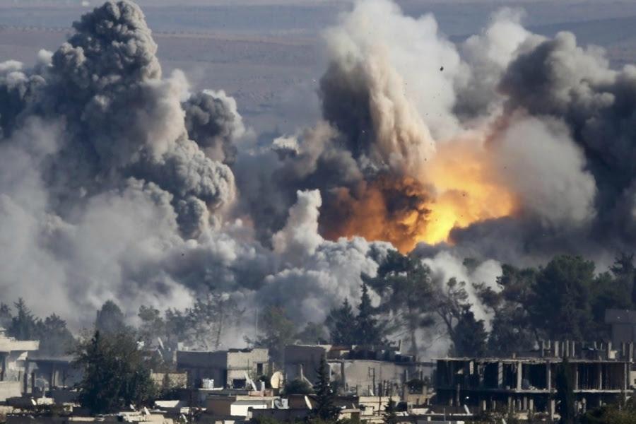 Βομβαρδισμοί στη Συρία, σε τομείς που ελέγχουν τζιχαντιστές