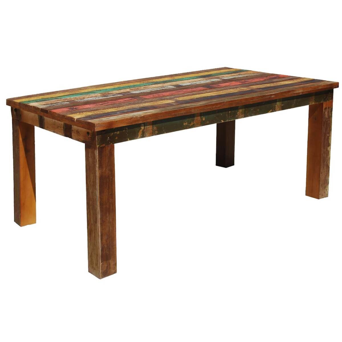 Reclaimed wood dining table los angeles buy dining table for Where to buy reclaimed wood los angeles