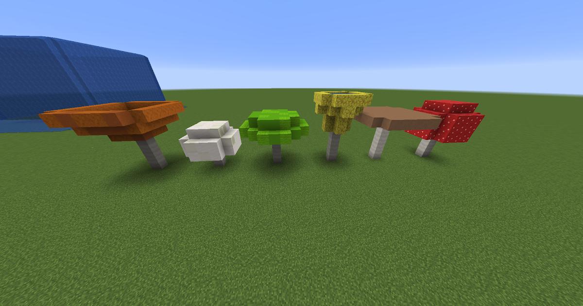 Minecraft How To Place Mushrooms - All Mushroom Info