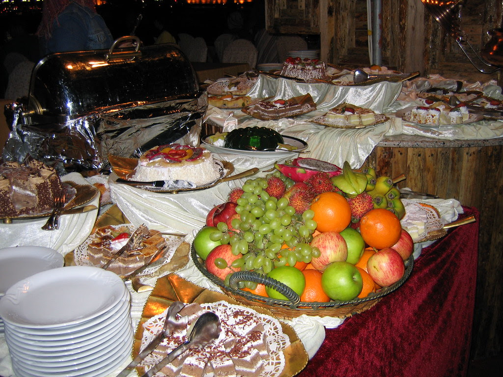 Fruit Plate on Dhow