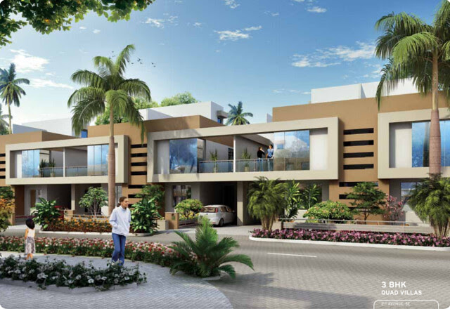 3 BHK Quad Villas - 2nd Avenue - Life Republic