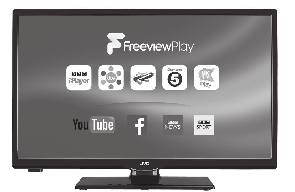 """Instruction Manual 24"""" LED Smart HD TV LT 24C660 C LT 24C661 C"""