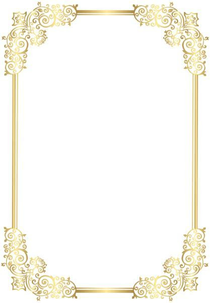 Border Decorative Frame Clip Art PNG Image   Gallery
