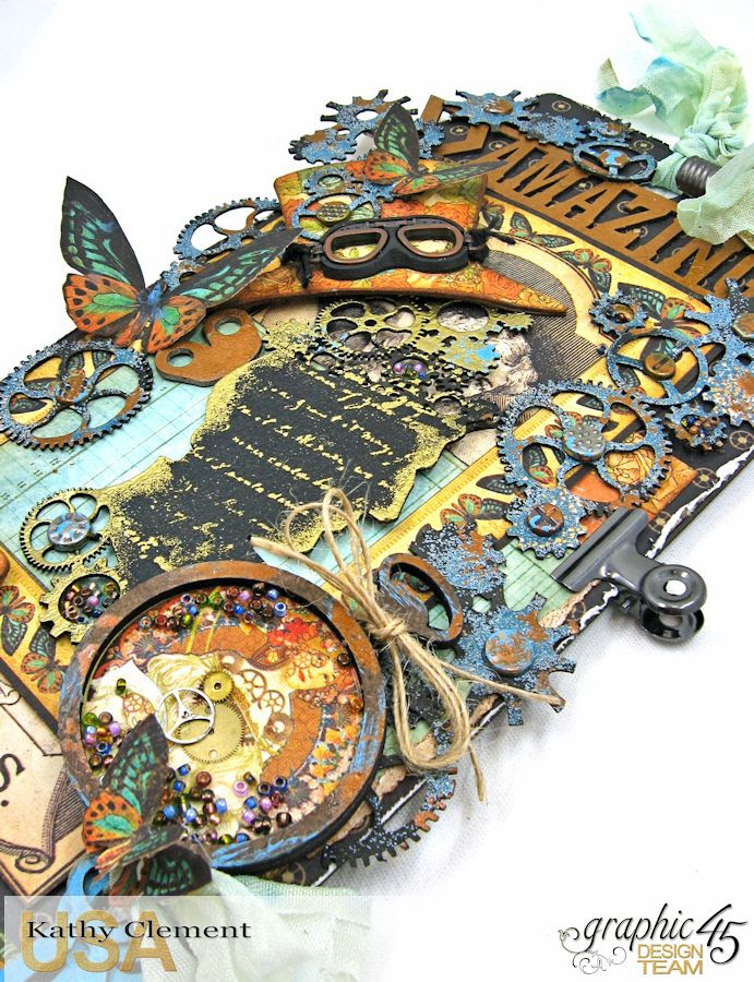 Steampunk Debutante Tag Folio by Kathy Clement for Gypsy Soul Lasercuts Product Graphic 45 Steampunk Debutante 05