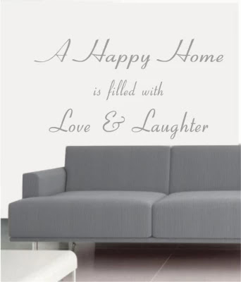 50 Off On Ritzy A Happy Home Living Room Wall Quotes Wall