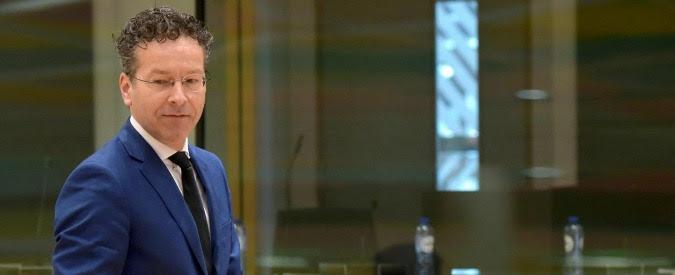 """Dijsselbloem, Renzi: """"Le sue parole sui Paesi del Sud Europa sono da bar sport. Prima si dimette e meglio è"""""""