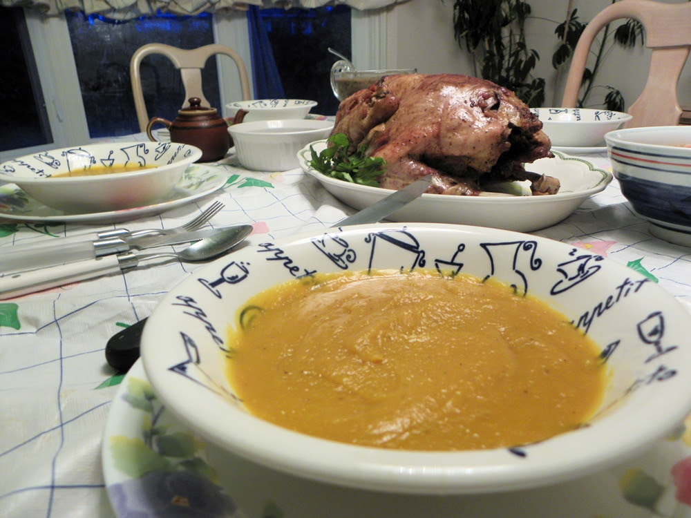 My Butternut Squash Soup Recipe for Thanksgiving