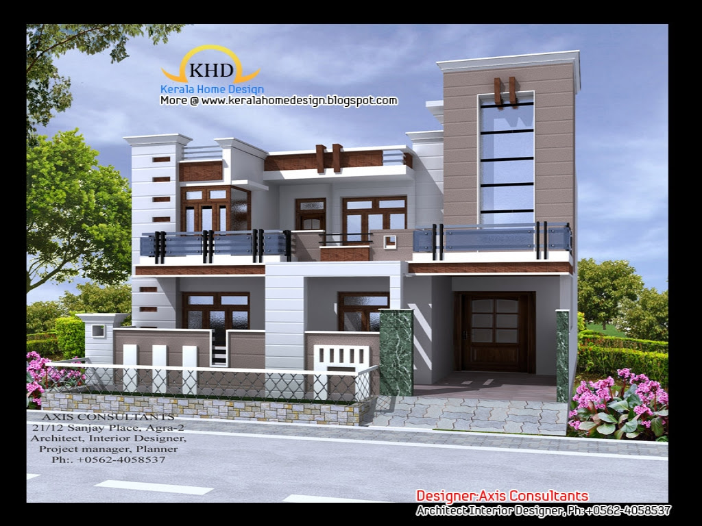 Front Elevation Indian Home Front Elevation Indian House Designs, residential house plans in - Brilliant Small House Front Elevation Ideas Home Design