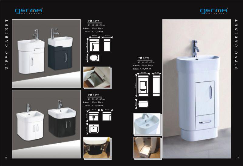 Product Catalogue Designs - GERMA Sanitarywares, Chennai. Page 8