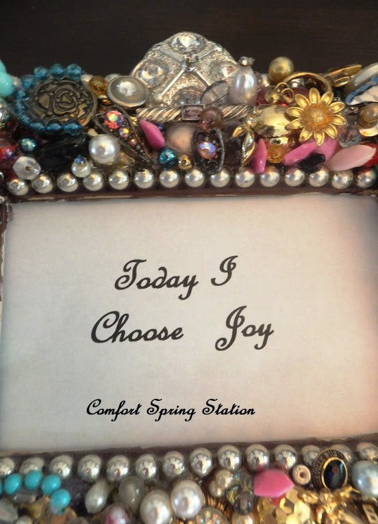 Today I Choose Joy Close-up