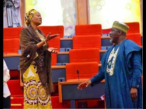 Valentine's Day Drama At NASS: Oluremi Tinubu Disses Dino Melaye (Watch Video)