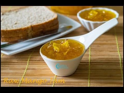 Raw Mango Jam | Subbus Kitchen